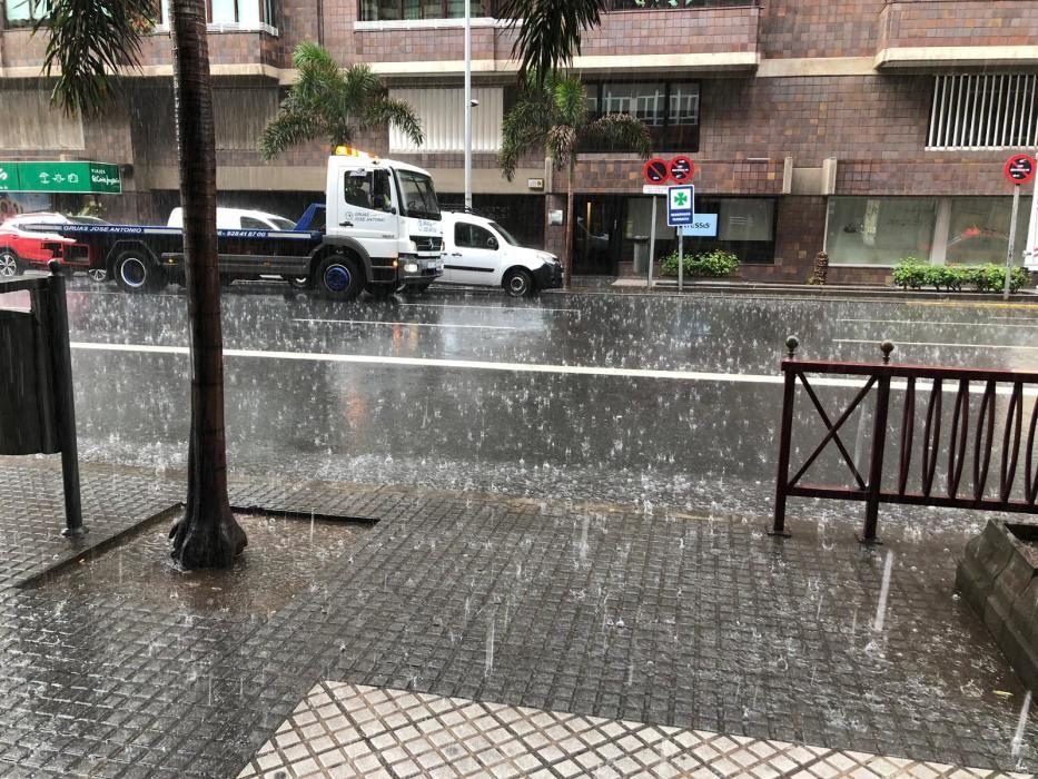Lluvia en Francisco Gourié.