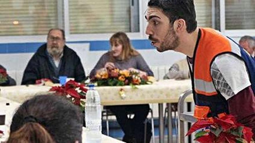 Protección Civil anula la tradicional cena solidaria de Navidad