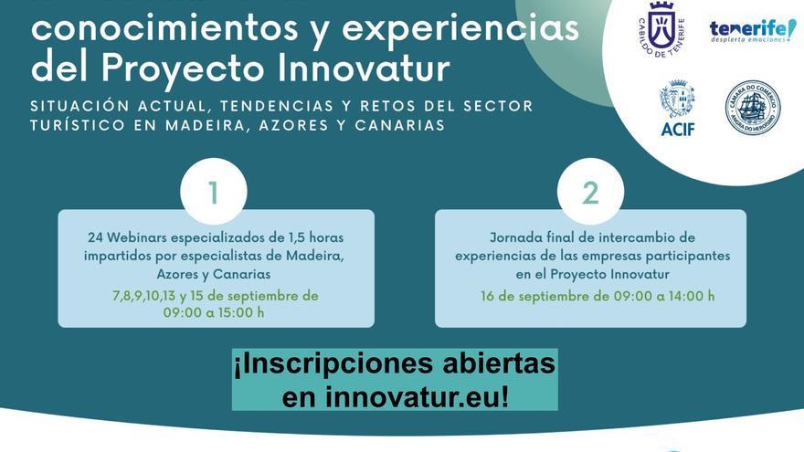 El Cabildo de Tenerife finaliza el proyecto Innovatur