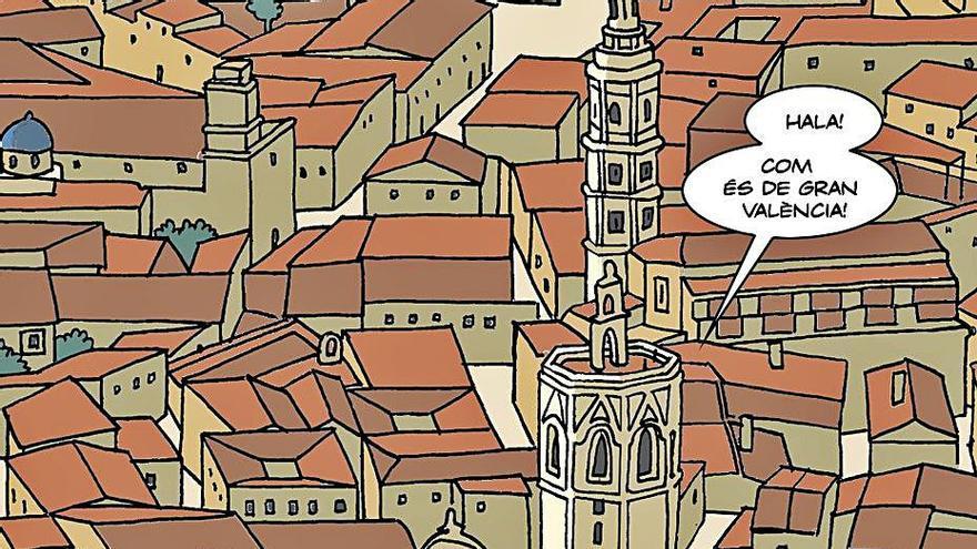 Educació distribueix el còmic 'El capellà de les ratlletes' del MuVIM