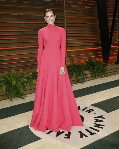La actriz Allison Williams.