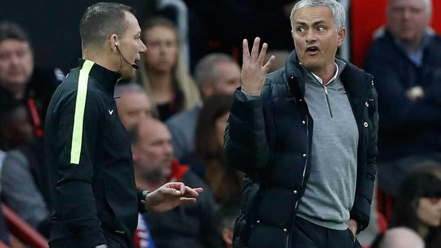 El City de Guardiola recupera el pulso en la Premier, y nuevo pinchazo del United, con Mourinho expulsado