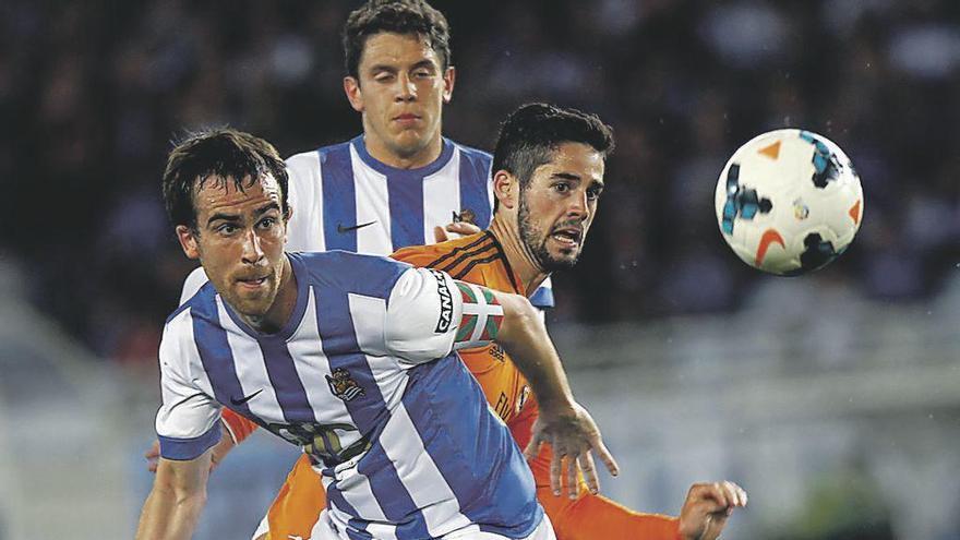 Mikel González, entre Sporting y Osasuna