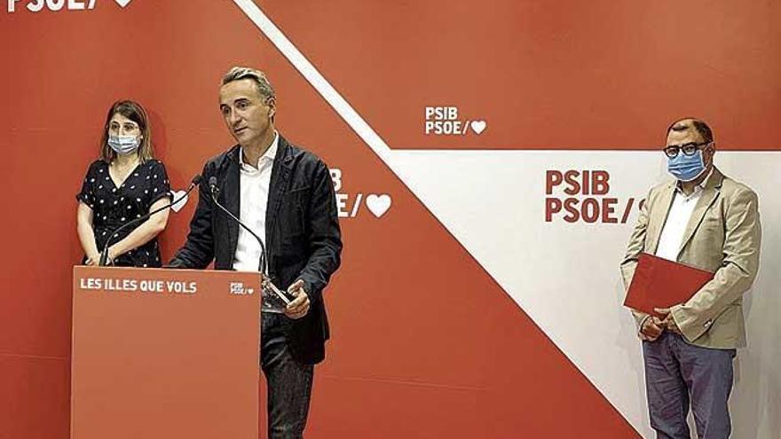 El PSIB defiende la salida de la actual crisis frente a la anterior