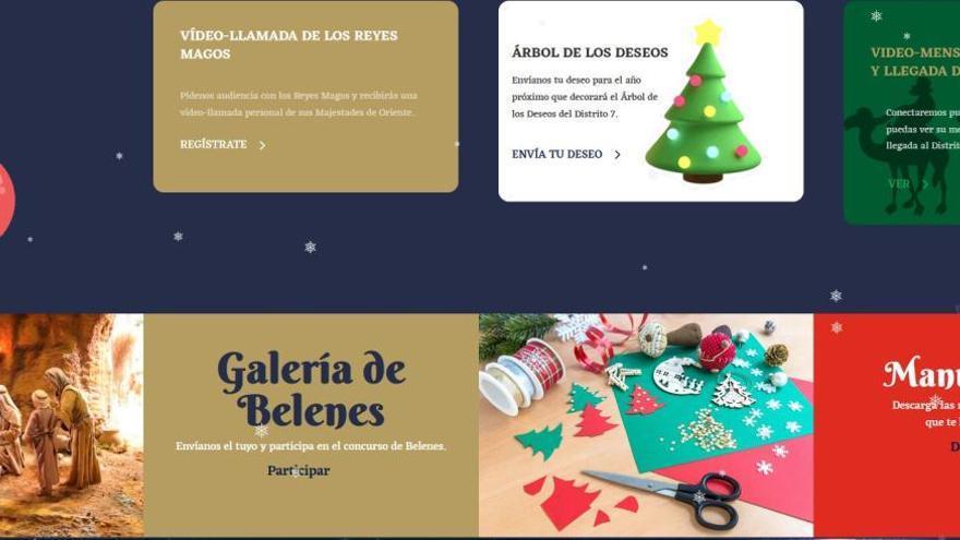 Programa de actividades de Navidad en los once distritos de Málaga
