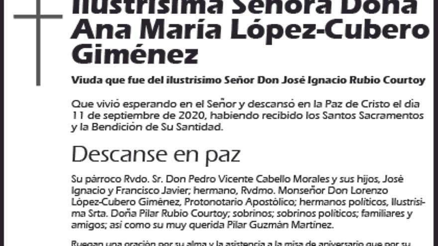 Ana María López-Cubero Giménez