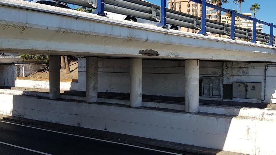 El Cabildo acomete obras para sanear tres pasos inferiores de la Avenida