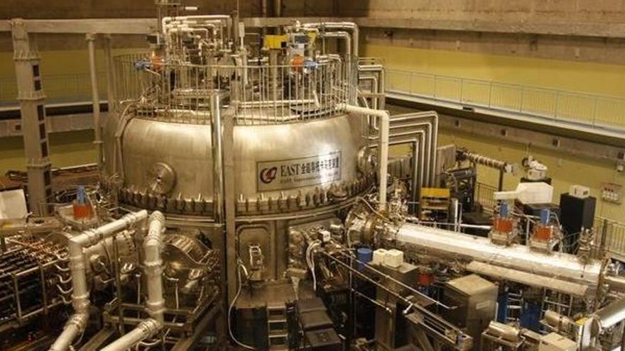 El reactor de fusión tokamak EAST.