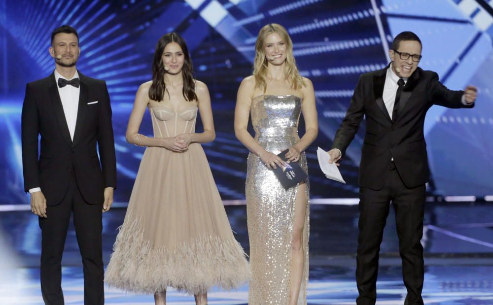 Los presentadores de Eurovisión 2019
