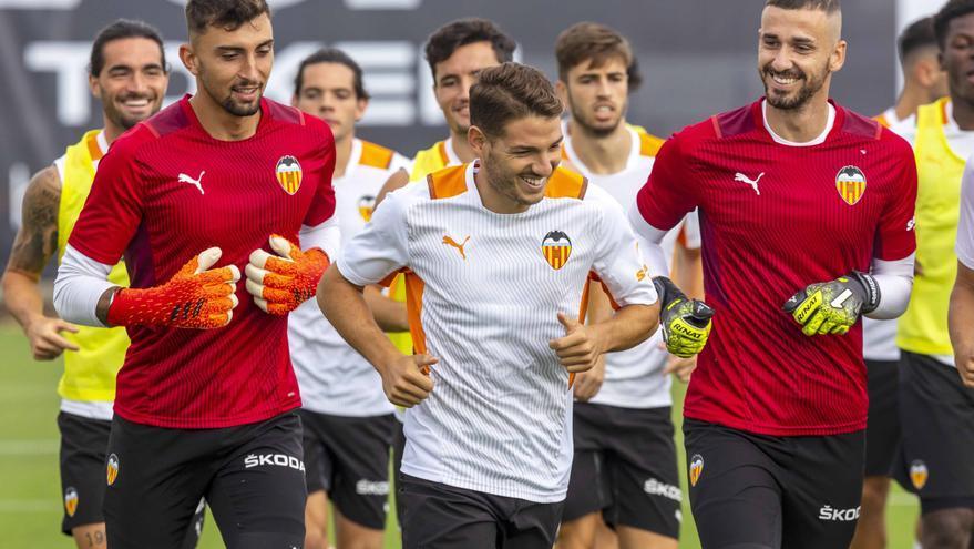 La semana de entrenamientos del Valencia CF