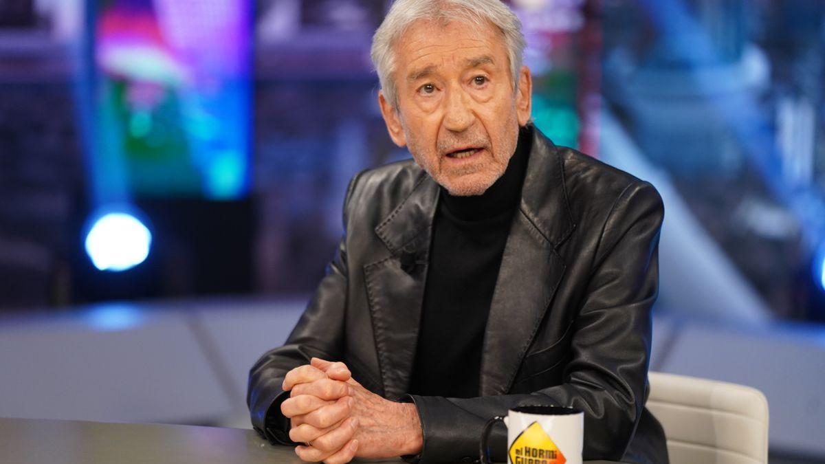 José Sacristán en 'El Hormiguero'.