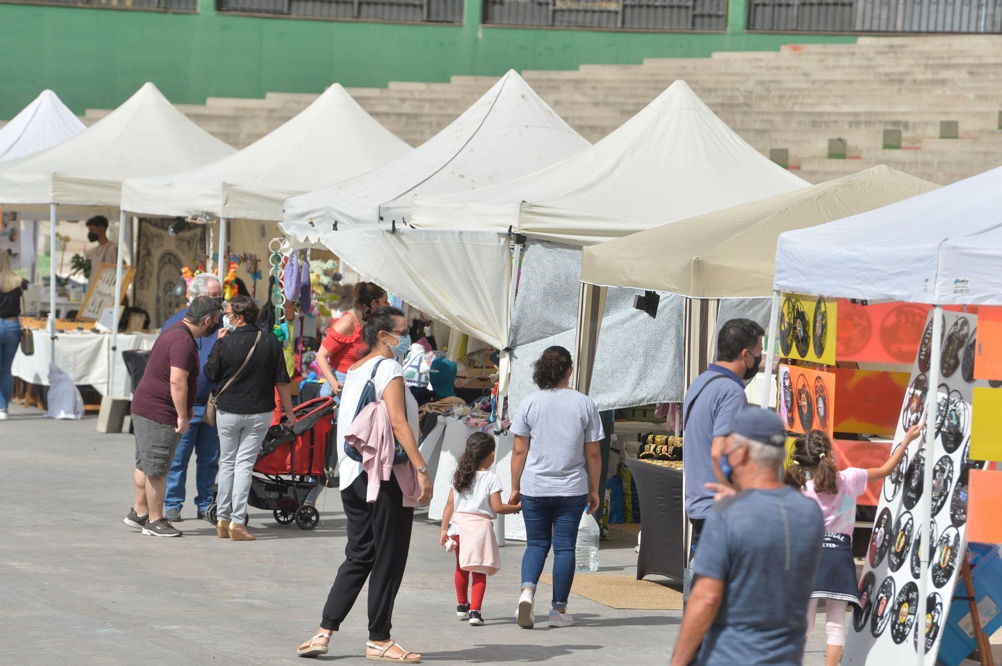 Feria de artesanía y talleres por las fiestas de San Juan en Telde