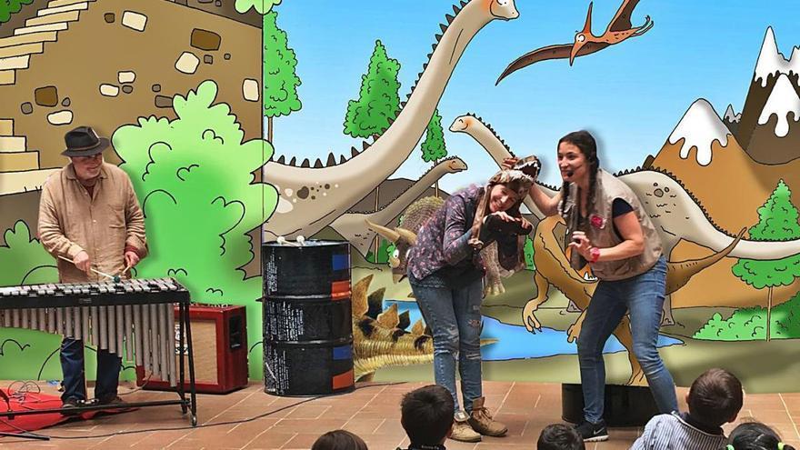 Les batalles de dinosaures dels Arisa pugen a l'escenari