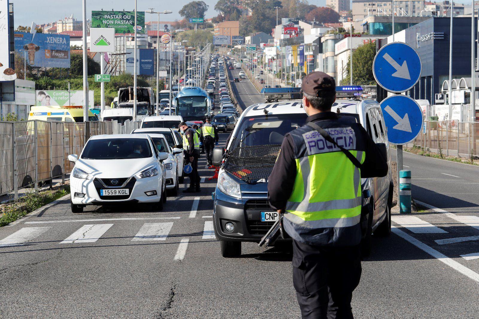 Cierre perimetral de Vigo: un puente de Todos los Santos Confinados