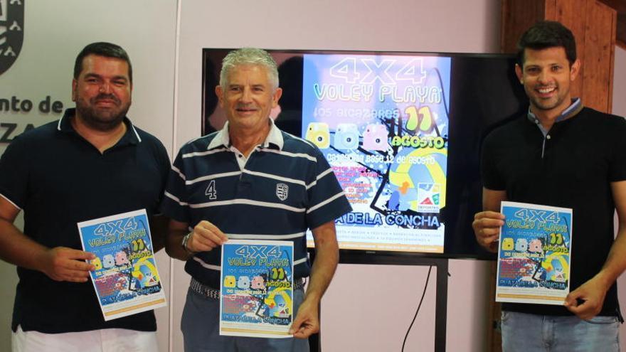 El 4x4 Voley Playa de Los Alcázares reunirá a cuarenta equipos