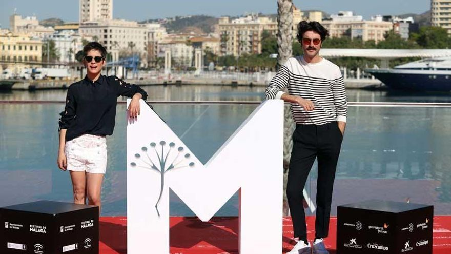 Javier Rey presenta en el Festival de Málaga 'Sin  fin', una historia de amor con viajes en el tiempo