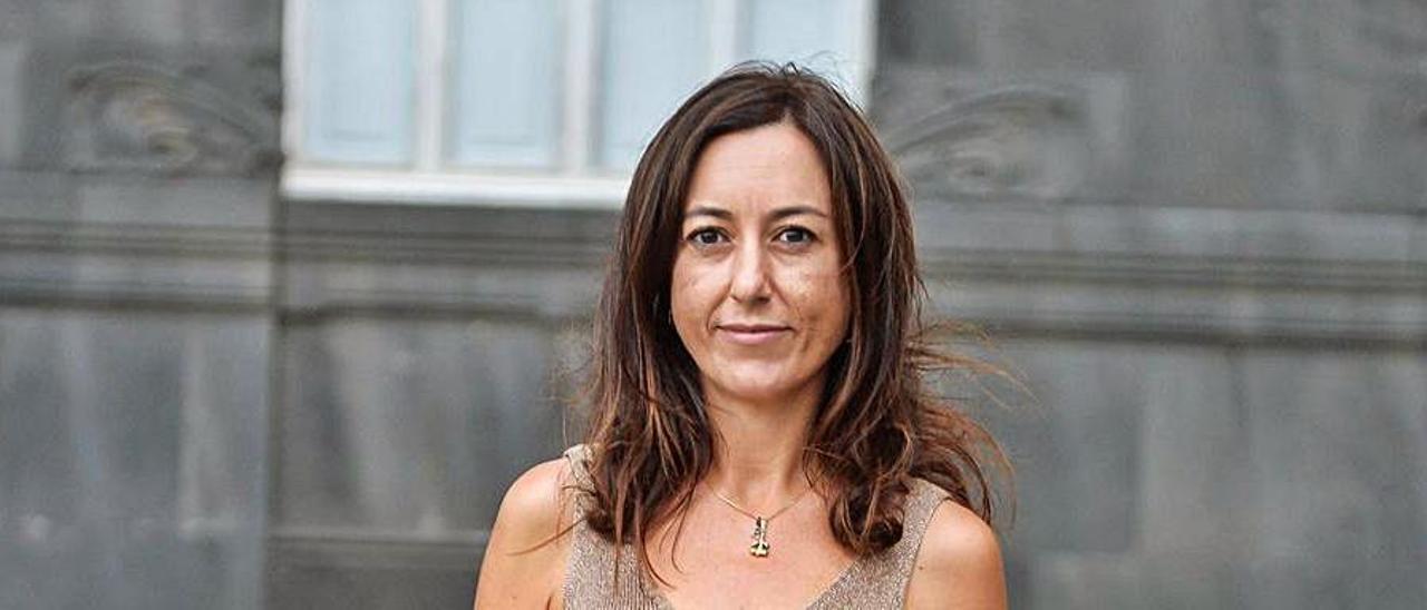 Leticia López, gerente del Instituto Municipal de Deportes. | | JOSÉ CARLOS GUERRA