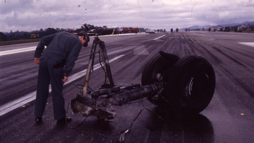 Accidente de avión en Vigo: el siniestro de Aviaco en Peinador