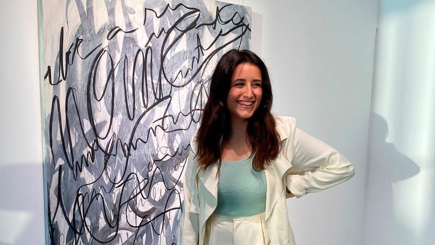 Amina Kouissar Garre exhibe en El Corte Inglés una muestra para disfrutar del placer como opción creativa