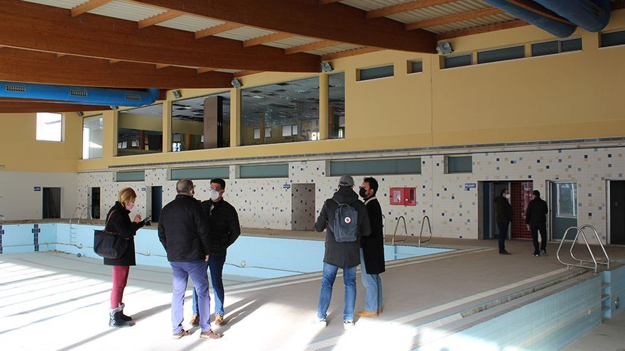 Novelda estudia convertir el abandonado Centro Salud y Agua en un pabellón deportivo