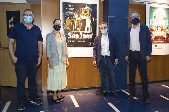 Teatro La República:  'San Juan' de Max Aub
