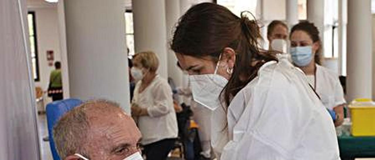 Reciente vacunación en el Port. | TORTAJADA