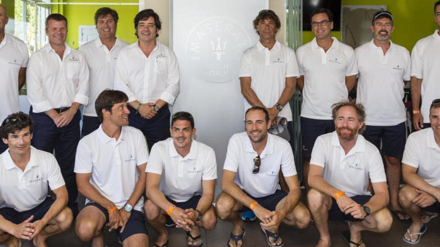 Maserati presenta a su tripulación de la 35ª Copa del Rey Mapfre