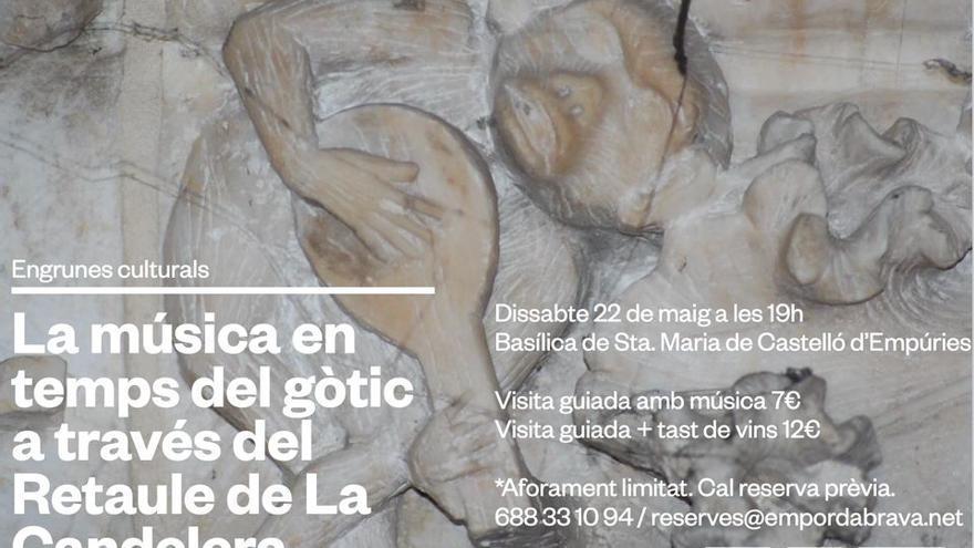 Visita Guiada La música en temps del gòtic