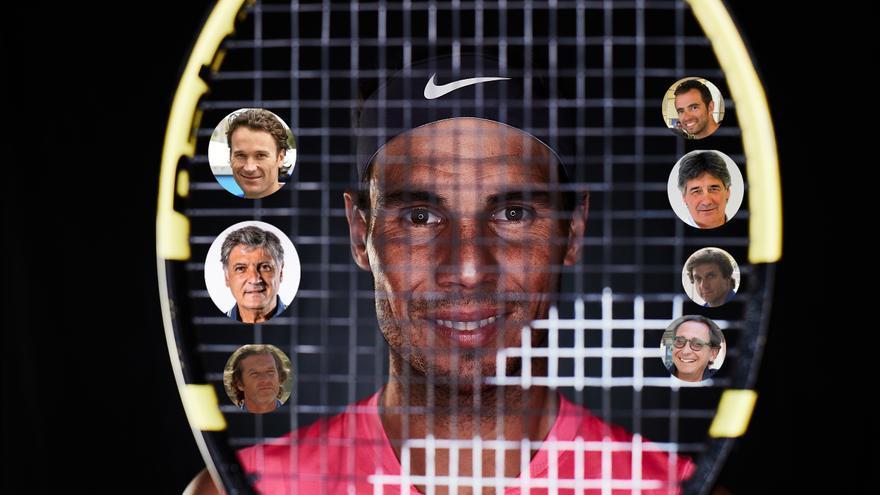 Rafa Nadal desvela quiénes le han ayudado en sus éxitos deportivos