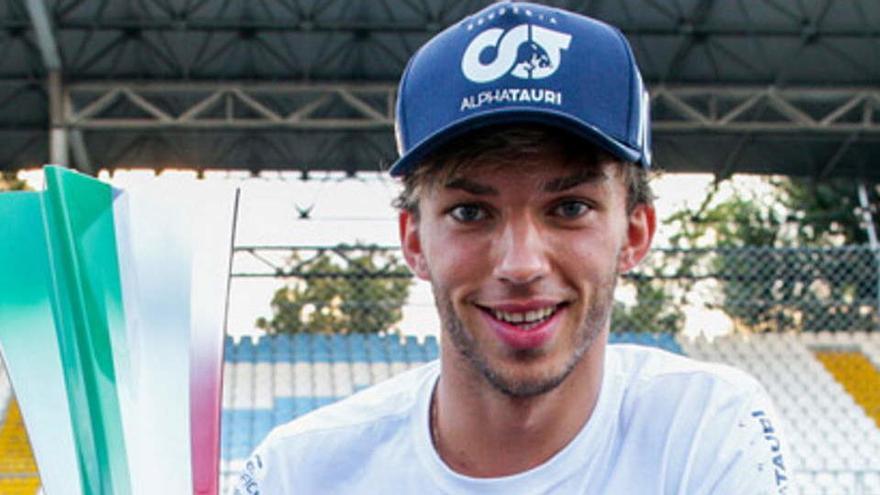 El piloto de Fórmula-1 Pierre Gasly da positivo en Covid-19