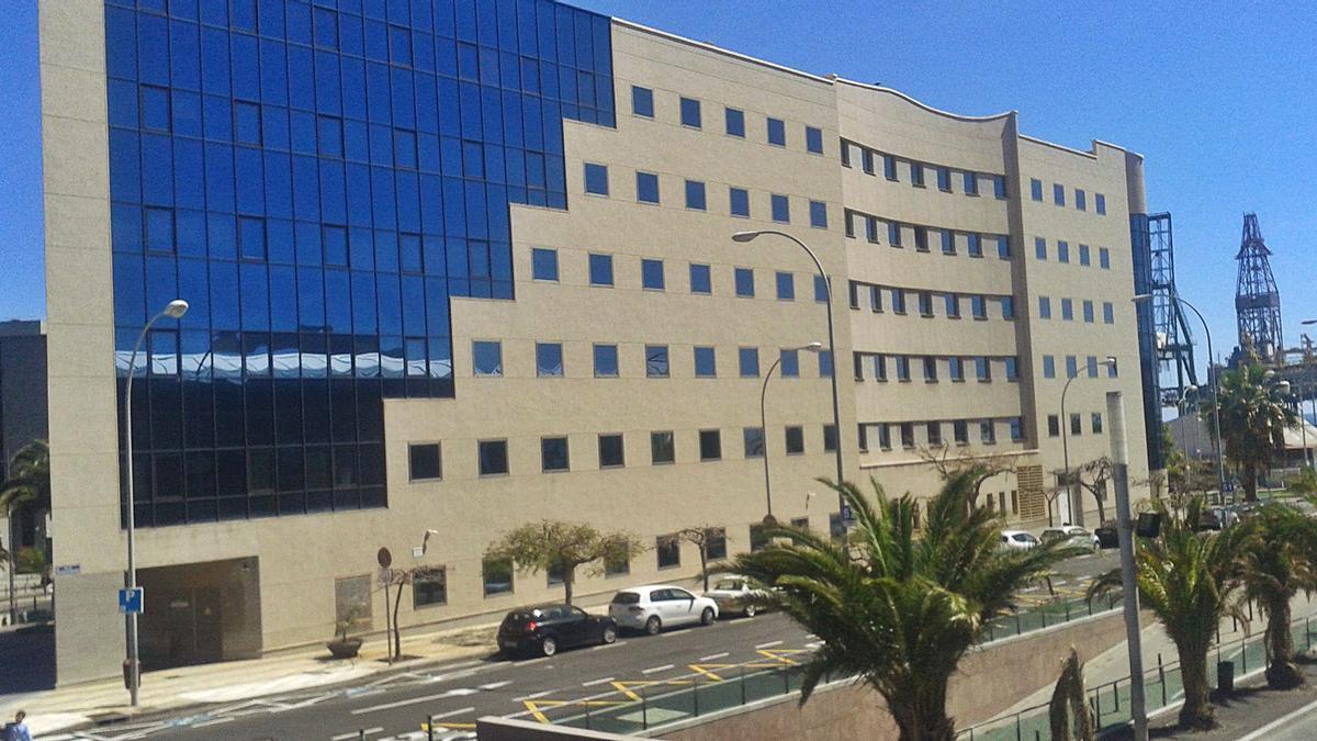 Palacio de Justicia de Santa Cruz de Tenerife. | | E. D.