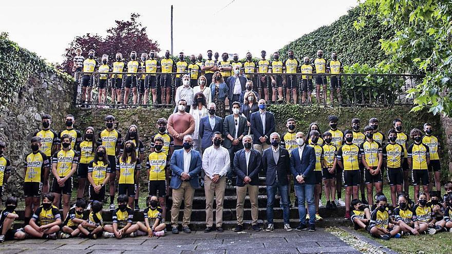 Presentación de las promesas del Club Ciclista Cambre-Caeiro