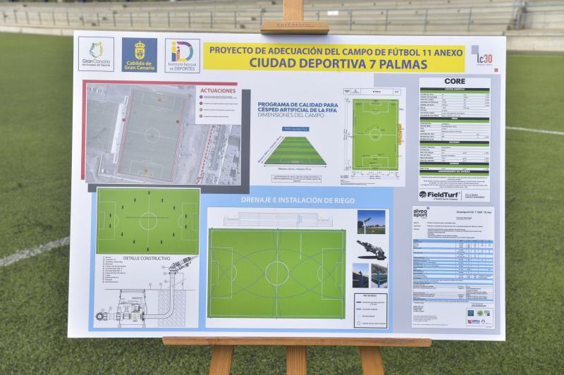 Presentación de la renovación del Anexo del Estadio de Gran Canaria