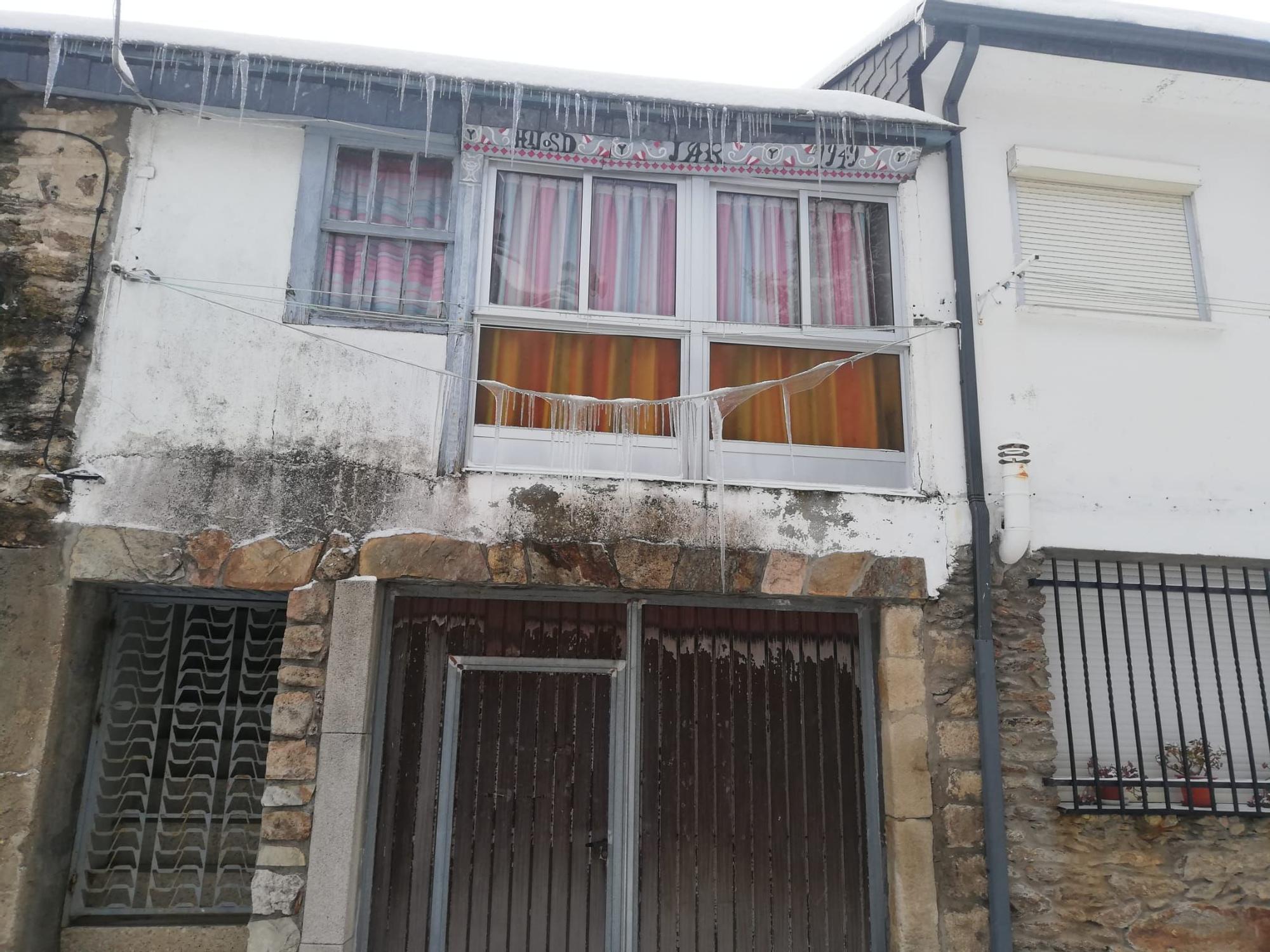 GALERÍA   Nevada en Porto de Sanabria