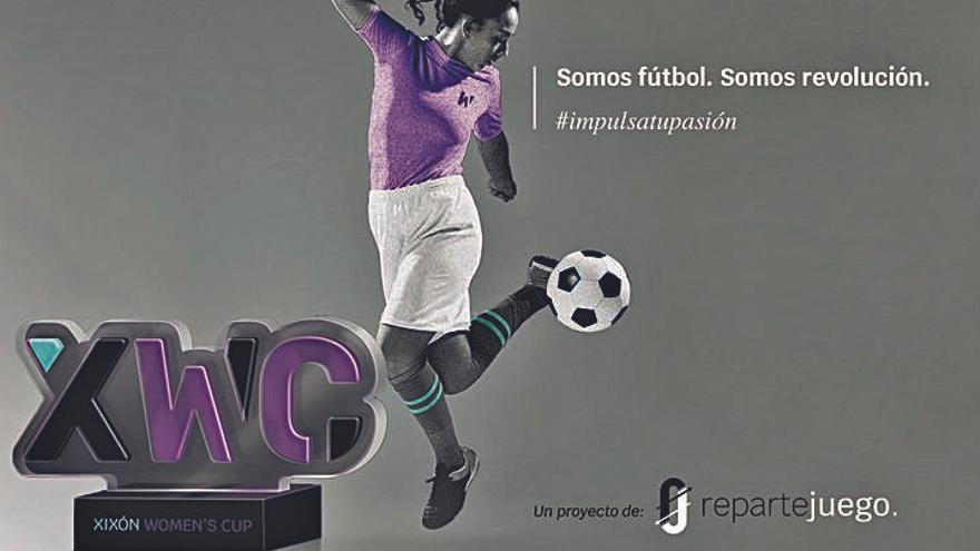 Gijón acogerá la I Women´s Cup, un gran torneo de fútbol de nivel mundial