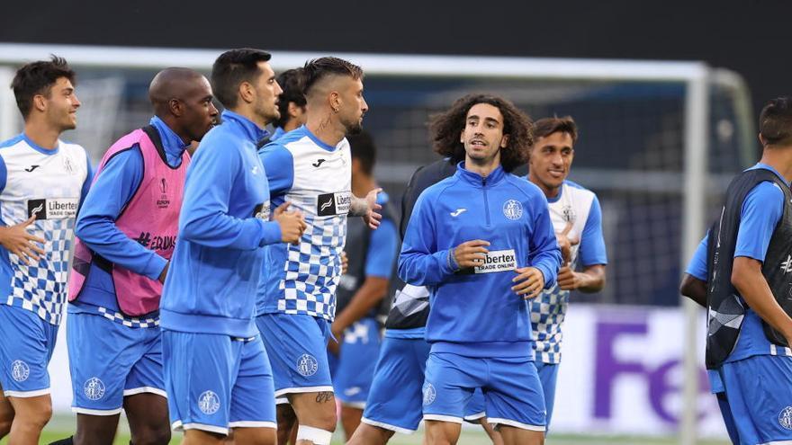 El Getafe, ante el reto de vencer al Inter para citarse con la historia