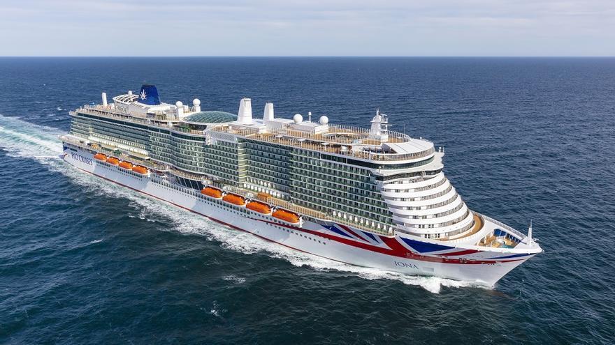 El nuevo gigante de la naviera P&O programa su rumbo hacia Vigo
