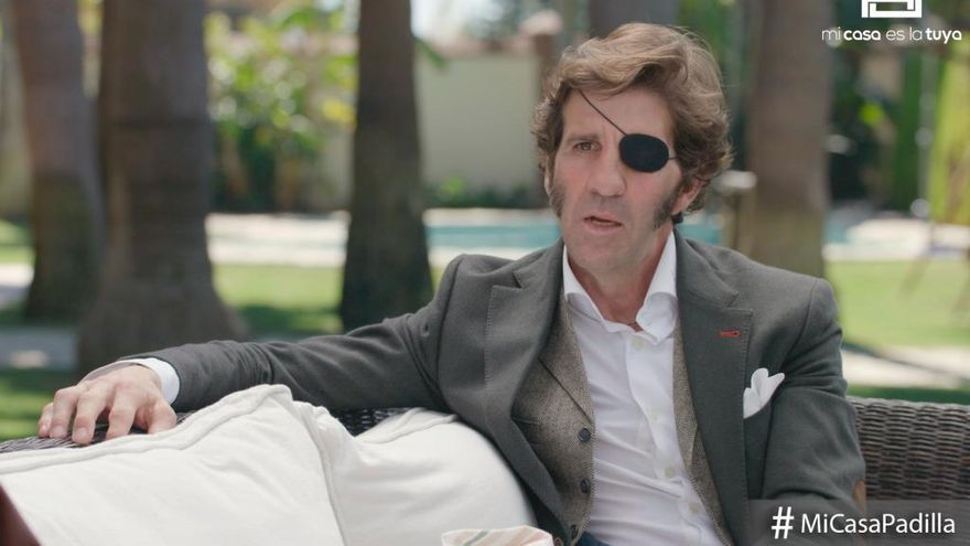 Juan José Padilla se sincera en 'Mi Casa es la Tuya' sobre la cornada que le arrancó el ojo