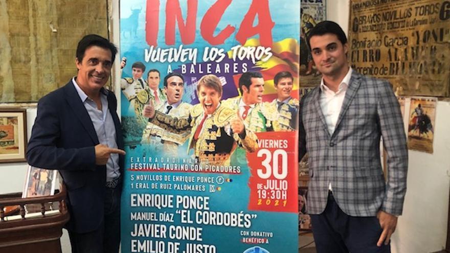 Festival con figuras en Inca para reactivar los toros en Mallorca