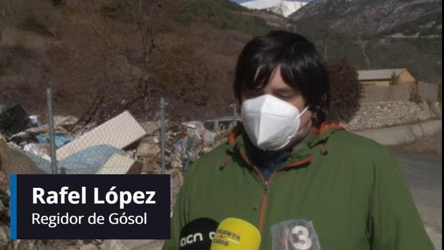 A Gósol estan «desbordats» per la gran quantitat de deixalles que han de gestionar