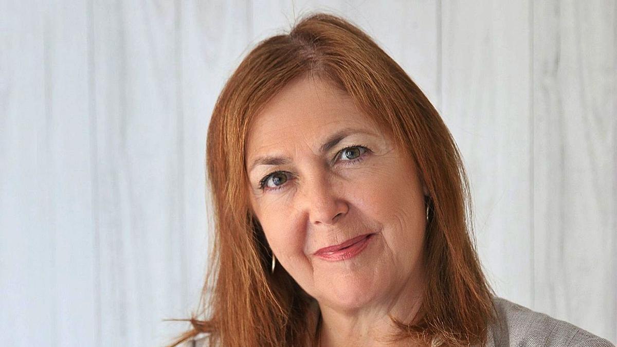 María Isabel Moya, presidenta del Colegio de Médicos de Alicante.   INFORMACIÓN