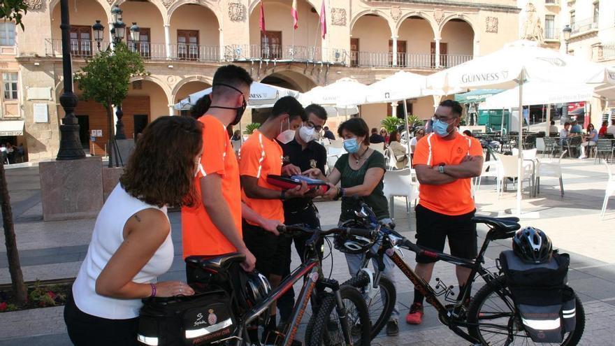 Desfibriladores en bicicleta en Lorca