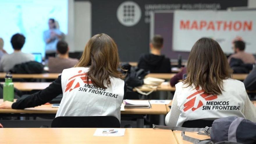 Segunda edición del 'Mapatón de Médicos Sin Fronteras' con más de 200 voluntarios