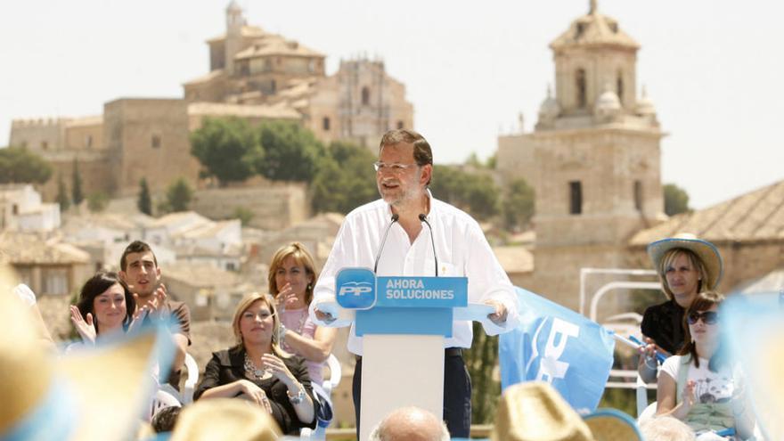 Rajoy ganará mañana el Jubileo en Caravaca