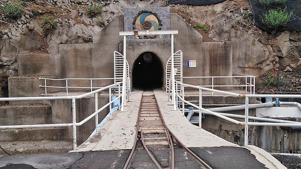 Imagen del Túnel del Trasvase.
