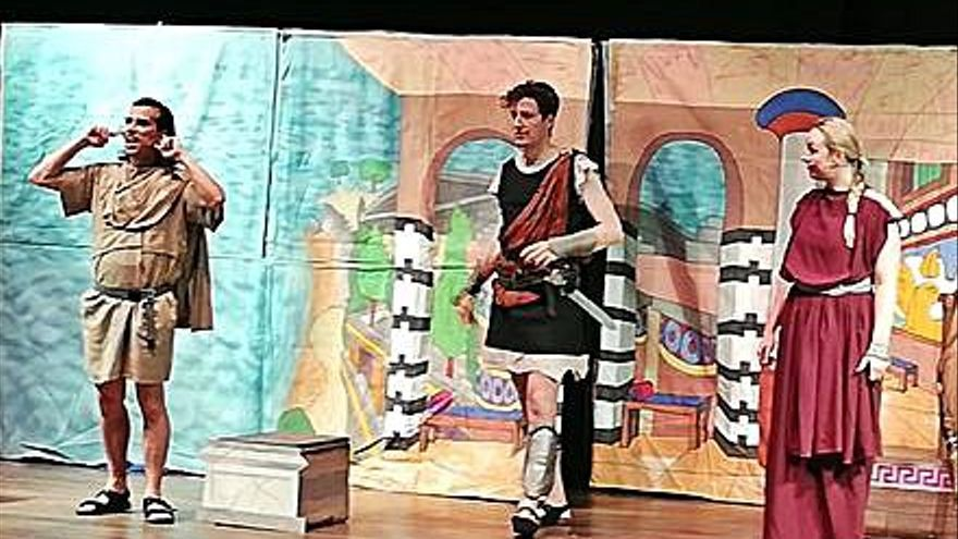 El teatro en inglés vuelve para los alumnos ejeanos