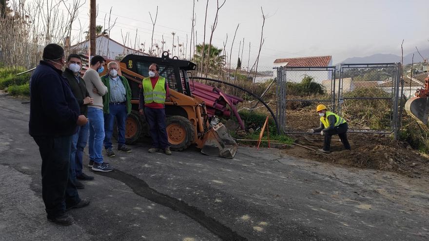 Endesa acomete obras de mejora de sus infraestructuras en Alhaurín el Grande