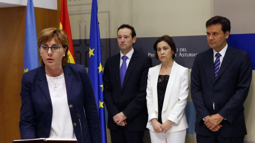 """Pilar Varela dice que """"se dejará la piel"""" en cumplir con políticas sociales"""