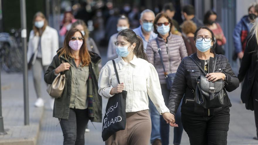 Más de 4.200 contagios en tres días en toda la Comunitat Valenciana