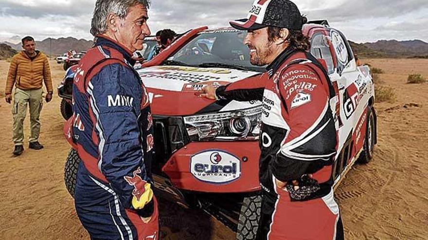 Carlos Sainz aumenta su ventaja en el Dakar